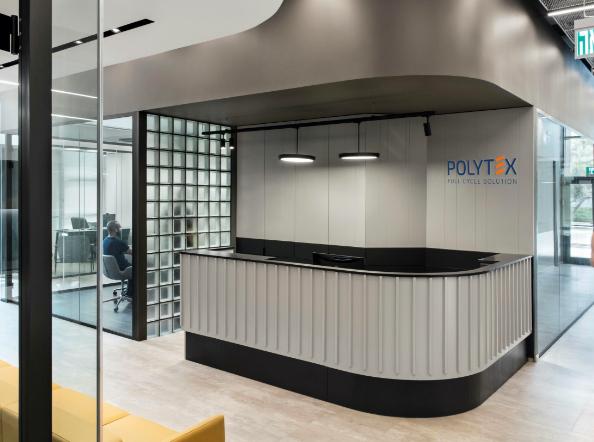 Polytex Offices at Caesarea, Israel