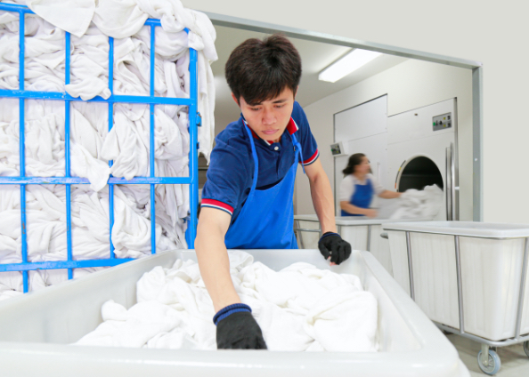worker protection at Laundry Workers