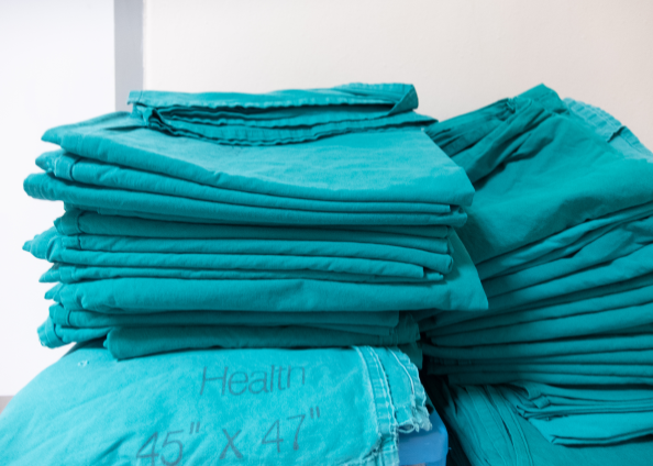 Polytex garment tracking capabilities for hospital workwear management