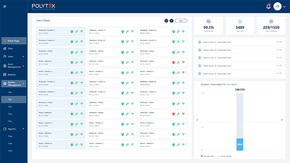 Polytex Total-Care Manager is an intuitive cloud-based web application
